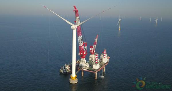 300MW!国内首组低温型大容量风电机组并网发电