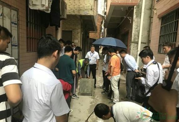 广州白八项目污水治理全部分部工程通过