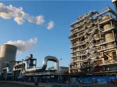 国家收割生物质耦合发电示范项目在哈尔