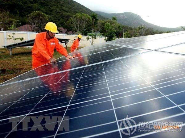 越南努力制定2020年后太阳能发电发展机