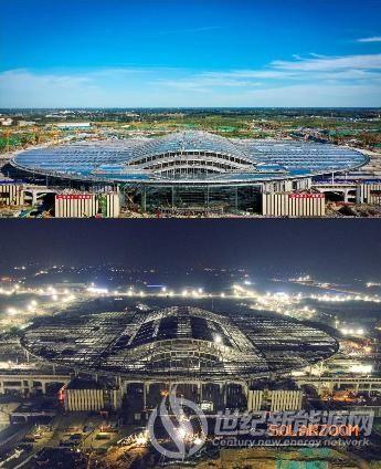 英利为亚洲最大高铁站提供6兆瓦光伏建