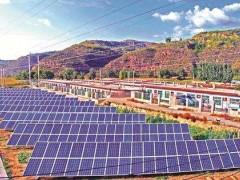 能源产业助力扶贫有成效!