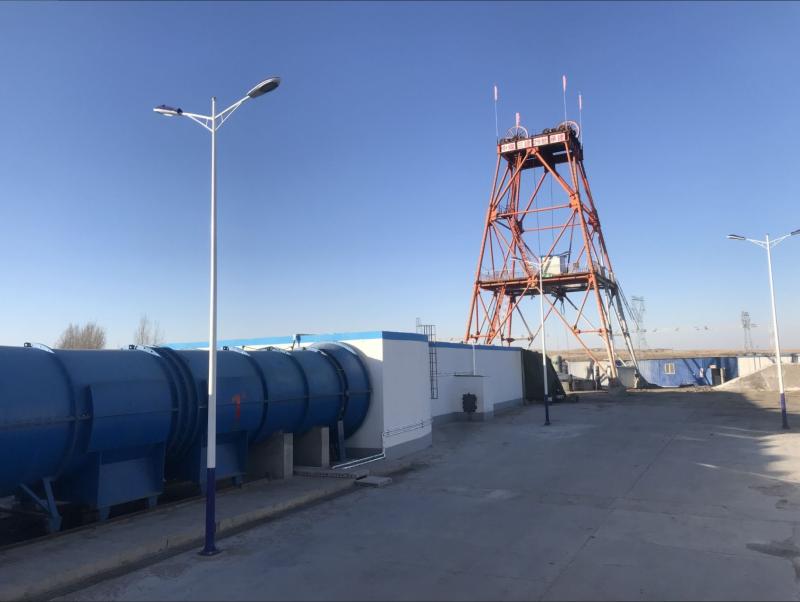 中煤三建二十九处高头窑项目部精准贯通