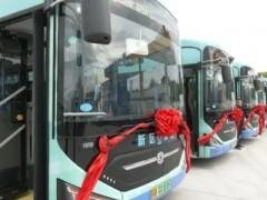 江苏无锡市首批氢能源公交车正式运营!